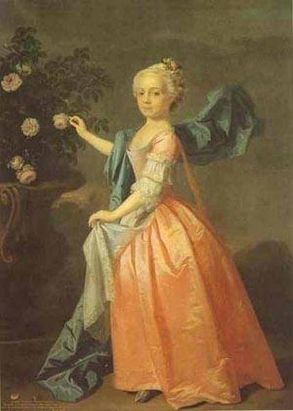 Portrait of agnes murray kynnynmond 1739 xx private collection